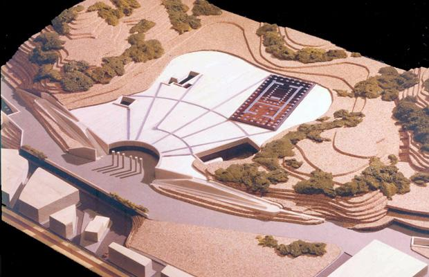 NEW ACROPOLIS MUSEUM (NAM), Koile site International Competition, 1991