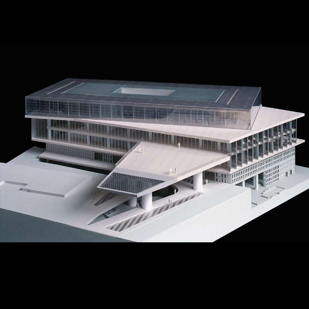 The new acropolis museum athens for Modern design building services