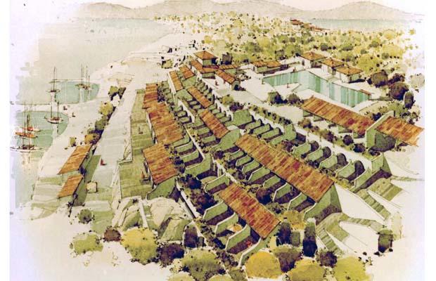 KASSIOPI Tourist Development  'NEREUS'   Corfu 1974